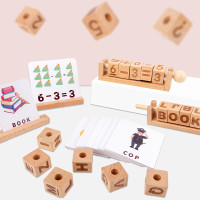 Wooden Number Puzzle Early Childhood Education - Mainan Edukasi