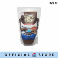Pelet Pengumpul Ikan Bawal Mas Lele Patin Pellet Atlantic Boom 200gr