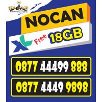 Nomor Cantik XL free 18GB Triple 444 Triple 888 dan 9898 ( 444888 9898