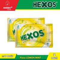 Hexos Lemon isi 8 butir (2 pouch)