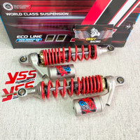 Shock Supra X 125-RX King-Blade-Fit New YSS ALL NEW G-SIX Merah 320mm