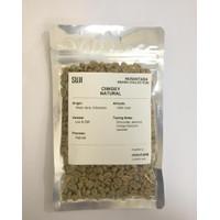 Biji Kopi Mentah / Green Bean Arabica, Jawa, Ciwidey Natural, 125 gr