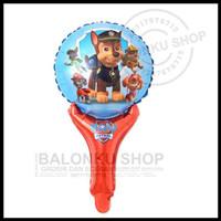 Balon Foil Tongkat Paw Patrol / Balon Pentung Paw Patrol / Balon