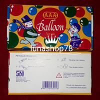 Mainan jadul balon tiup AAA