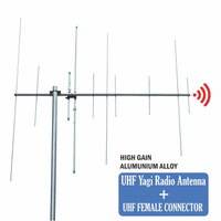 Antena Dualband Yagi Dual Band VHF UHF HT RIG Pengarah