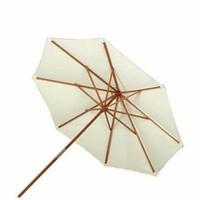 Payung Taman Bahan Kayu Jati Untuk Outdoor Cafe, Pantai, Resto Dll
