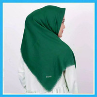 Kerudung Segi Empat Zoya Unvinised Scarf Jilbab Segiempat Hijab Polos