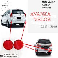 Mata Kucing / Reflektor Bemper Belakang Avanza 2012 - 2019 Veloz