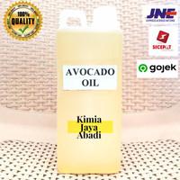 Avocado Oil 1 Liter / Minyak Alpukat Cosmetic Grade Cold Pressed ASLI