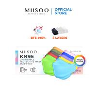 MIISOO N95 KN95 Multicolor Korea KF94 Masker Kesehatan masker evo 4ply - Multi Color