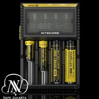 Nitecore D4 Intelligent USB Charger Baterai 4 Slot - Authentic