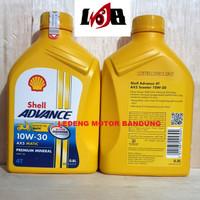 Oli Shell Advance AX5 Scooter Motor Matic 800ml Premium Mineral Oil