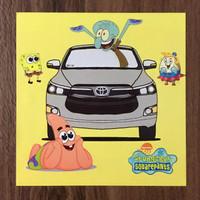 Sticker Toyota Kijang Innova Reborn x Spongebob - Artbox Edition 4