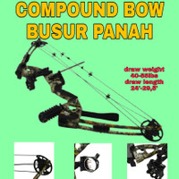 COMPOUND BOW BUSUR PANAH BERBURU ARCHER ARCHERY ARROW HUNTING HUNT ORI