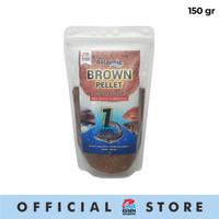 Umpan Mancing Pellet Atlantic Brown Aroma Amis 150 gram