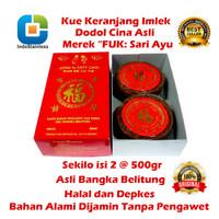 READY STOK KUE KERANJANG /DODOL CINA ASLI KOTAK HALAL BANGKA BELITUNG - 2 pcs