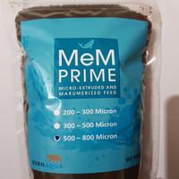 PELET / PELLET MEM 500 - 800 MIKRON 500 GRAM / PAKAN IKAN 5/8