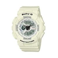 Jam Tangan Wanita Casio Baby-G Digital Analog White Strap BA-110PP-7A