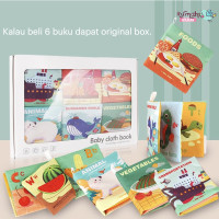 Buku bayi/Buku kain/Buku bantal/Baby first book/Softbook/Cloth book