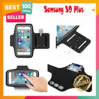 Samsung S9 Plus Soft Case Sport Armband Arm Band Belt Cover Pouch Lari