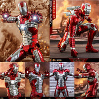 Hot Toys Iron Man Mark 5 Mark V MMS400D18 1/6 Figure Reissue Version