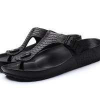 Flip Flops Beach Slipper untuk flatfoot, kaki datar