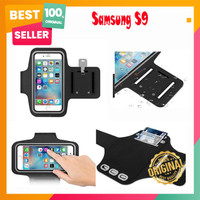 Samsung S9 Soft Case Sport Armband Arm Band Belt Cover Running Pouch