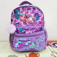 tas sekolah sequin unicorn 68814 HSD