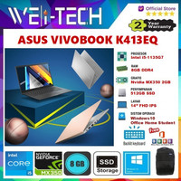 ASUS VIVOBOOK K413EQ i5-1135G7 8GB 512GB NVIDIA MX350 2GB 14FHD WIN10
