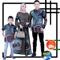 Baju Couple Keluarga Batik Sarimbit Pasangan Pesta Modern Terbaru
