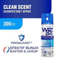 WIZ24 Disinfectant Spray 300ml - Biru