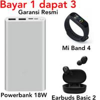 Xiaomi Mi Band 4 Powerbank 18W Fast Charging Earbuds Basic 2 Giftbox
