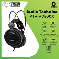 Audio Technica ATH-AD500X High Fidelity Open Back Headphone
