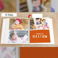 Starlight Import Album Foto Polaroid Motif 200 Foto Penyimpanan Foto