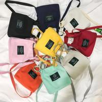 C24 Tas wanita import korea / tas kanvas / totebag mini / tote bag min