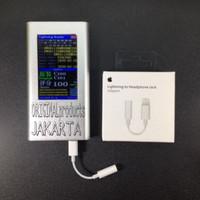 Adapter Iphone 7 8 X to 3.5mm Audio Aux ke Earphone Jack 5pin Original