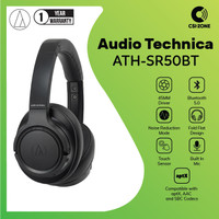 Audio Technica ATH-SR50BT Over Ear Wireless Headphone