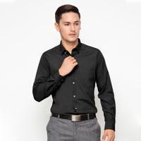 Ricciman Slim Fit Shirt Long Sleeve Black L-PMF9531-HT