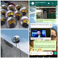 Antena TV plug n' play versi parabola mini