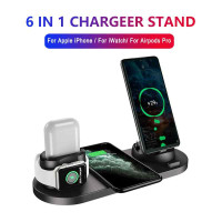 Wireless Charger 6in1 Fast Charging Iphone Iwatch & Android
