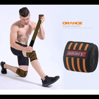AOLIKES 7165 Pelindung Lutut Knee Wrap Strap DEKER LUTUT P190 CM - Orange