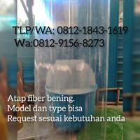 atap fiberglass,atap bening fiber, atap penerangan fiberglass