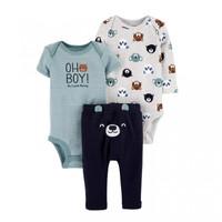 Setelan Newborn Baju Carte Setelan Oh Boy jumper carte jumper bayi