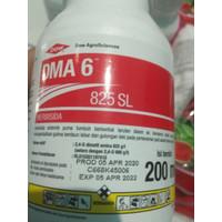 HERBISIDA DMA 200 ml. Bahan Aktif Dimethil Amina u/ Gulma Daun Lebar