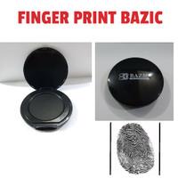 Bak stempel sidik jari/finger print pad BAZIC 163 Black