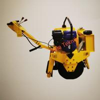 Mesin baby roller Hyundai 1 ton.. vibratory roller 1 ton