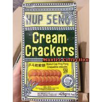 HUP SENG CREAM CRACKERS / SUGAR CRACKERS / VEGETABLE CRACKERS 428 GRM