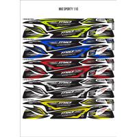 Striping Sticker Variasi Yamaha Mio Sporty Motip Thailand Thailook