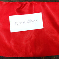 bendera merah putih bahan satin ukuran 120X180 cm pakai pengait