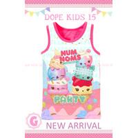 Atasan Anak Dope Kids DK 15 -G Baby - Pink, 9 Bulan
